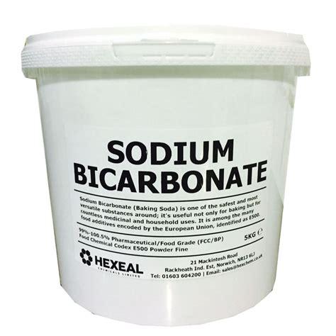 bicarbonate de sodium cuisine sodium bicarbonate of soda 5kg 100 bp food