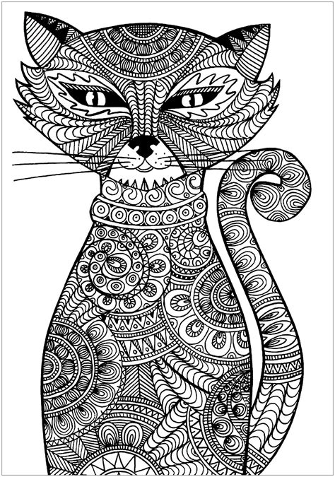 pet coloring pages  adults