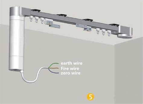 2017 motorized curtain track smart home used motorized