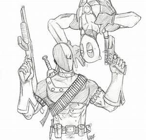 Deadpool und Deathstroke by Amrock on DeviantArt