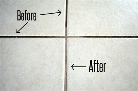 guaranteed clean maintenance guaranteed diy solution to clean dirty tile grout before and after themrsinglink