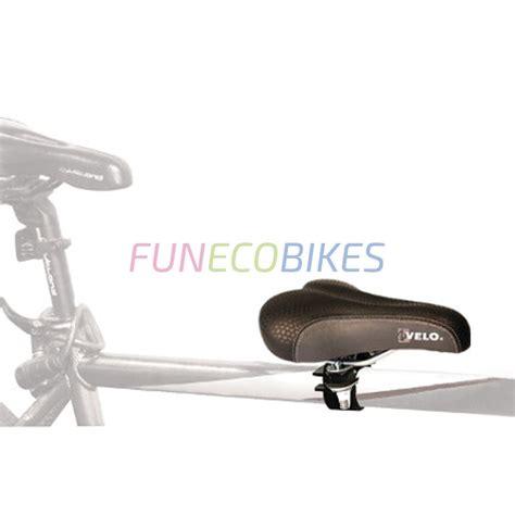 siege velo avant selle siège enfant sur barre horizontale de vélo adulte