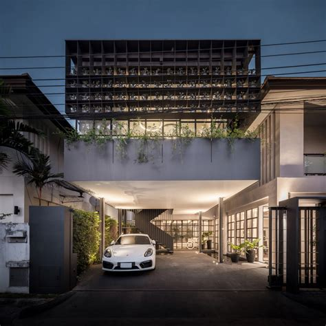 Flower Cage House by Flower Cage House Anonym Archdaily