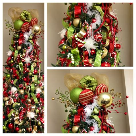 whoville inspired christmas tree christmas ideas grinch