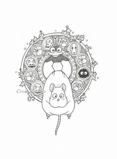 Ghibli Studio Tattoo Spirited Away Chihiro Miyazaki