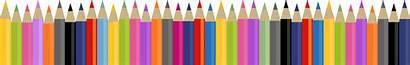 Clipart Pencils Supplies Colored Pencil Crayons Transparent