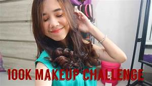 100K MAKE-UP CHALLENGE INDONESIA | Fegaahmad - YouTube