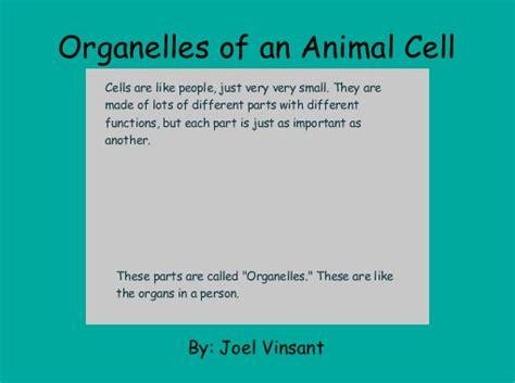 organelles   animal cell  books childrens