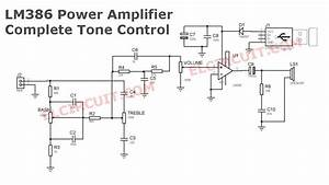 Usb Powered Audio Amplifier Lm386   Tone Control