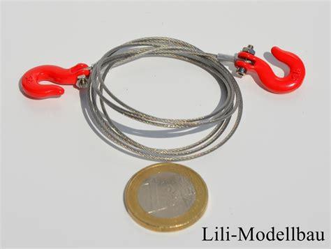 Mit Stahlseilen by Lili Modellbau Stahlseil Mit 2 Haken