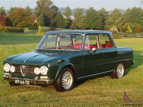 1971 Alfa Romeo by 1971 Alfa Romeo Giulia Biscione