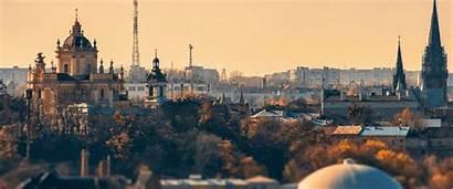 Especially Cities Autumn Where Lviv