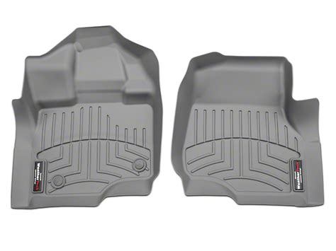 weathertech f 150 digitalfit front floor liners gray 466971 15 17 supercab supercrew free