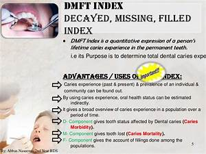 Dmft Index Berechnen : indices for dental caries ~ Themetempest.com Abrechnung