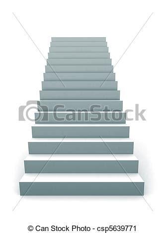 clipart de unique escalier 3d une unique escalier