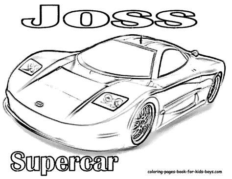 disegni gratis per bambini da colorare line cars da colorare on line