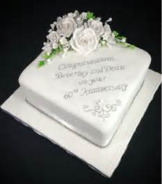 60 wedding anniversary 60th anniversary cakes on wedding anniversary cakes simple anniversary cakes and
