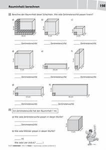 Rauminhalt Berechnen : denken und rechnen ausgabe 2011 kopiervorlagen 4 westermann verlag ~ Themetempest.com Abrechnung