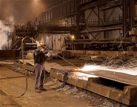 ArcelorMittal Cleveland, slab cutting | Viktor Mácha ...