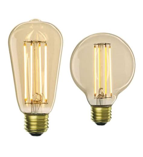 these retro looking lightbulbs are made with leds ubergizmo