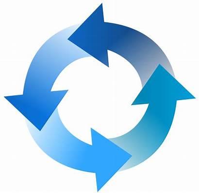 Cycle Process Clipart Transparent Flow Diagram Step
