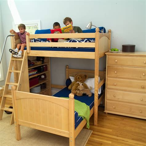best reading l for bed twin over full bunk beds for kids corner l shaped