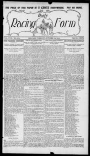 daily racing form n tuesday october 24 1911 daily racing form free download borrow