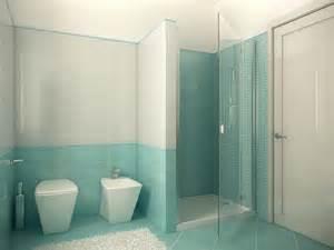 Duesudue portfolio rendering bagno azzurro