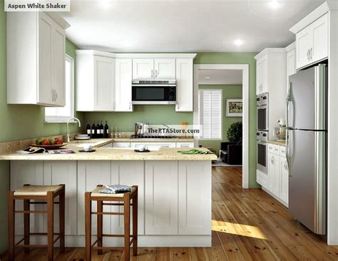Faircrest Cabinets Aspen White by Aspen White Shaker Pre Assembled Kitchen Cabinets The