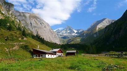 Austria Grossglockner Mountains Highest Mountain Wallpapers Landscape