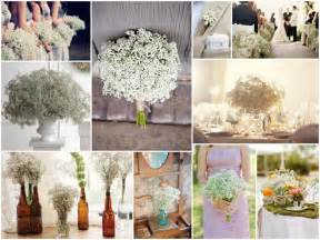 cheap wedding decorations cheap wedding decorations wedding white wedding baby 39 s breath flower aisle decorations