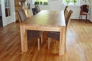 Tischdecken Für Lange Tische : tische aus massivholz f r das esszimmer das b ro oder einen anderen einsatzzweck ~ Buech-reservation.com Haus und Dekorationen
