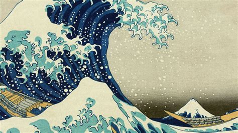 ab wallpaper great wave  kanagawa wallpaper