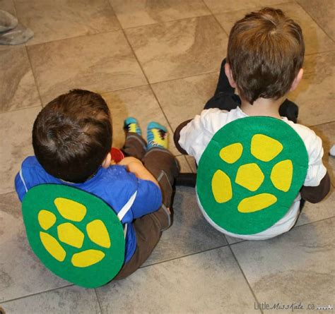 diy mutant turtle shell costume with pattern 594 | DIY Teeenage Muntant Ninja Turtle Shell costume Craft 7