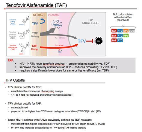 HIV Dart/2016: Antiviral Activity of Tenofovir Alafenamide ...