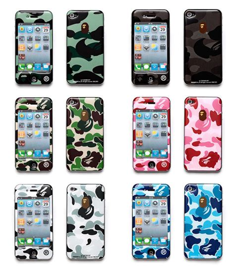 bape iphone new iphone 4 cases from a bathing ape x gizmobies mikeshouts