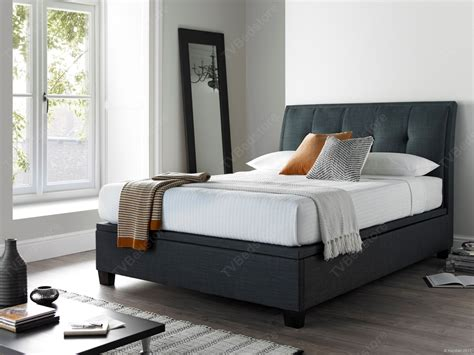 kaydian accent ottoman storage super king size bed frame