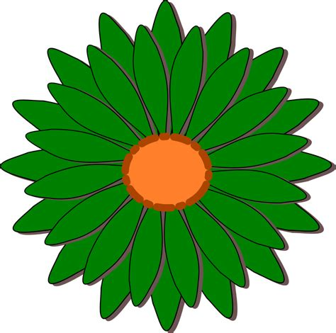 fiore clipart green flower clipart clipground