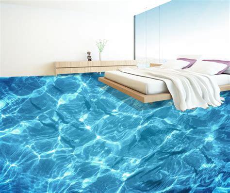 floor ocean water ripples creative  stereoscopic