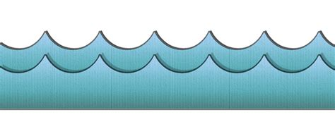 cartoon waves   clip art  clip art