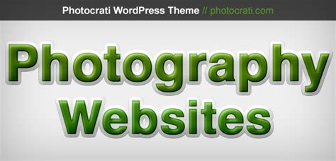 important aspects   photography website