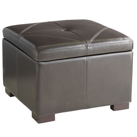 Ottomans Pier One by Chelsea Storage Ottoman Brown Pier 1 Imports
