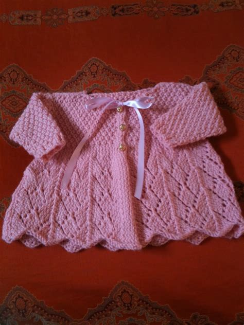 baby sweaters to knit la dolce duchessa lace baby sweater