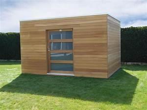 Cabanon En Bois : abri de jardin cube ~ Mglfilm.com Idées de Décoration