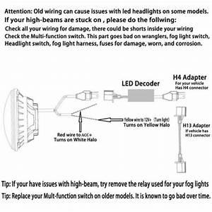 H4 Led Headlight Wiring Diagram