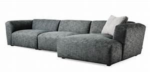 Canapé Haut De Gamme Tissu : canap d 39 angle haut de gamme scandinave ~ Premium-room.com Idées de Décoration