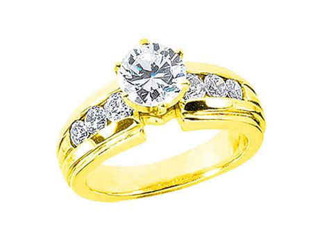 1.20ct Round Brilliantdiamond Engagement Ring Solid 18k
