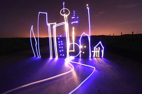 light paint photography top design magazine web design