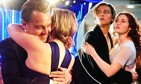 Golden Globe Winners Kate Winslet And Leonardo Dicaprio