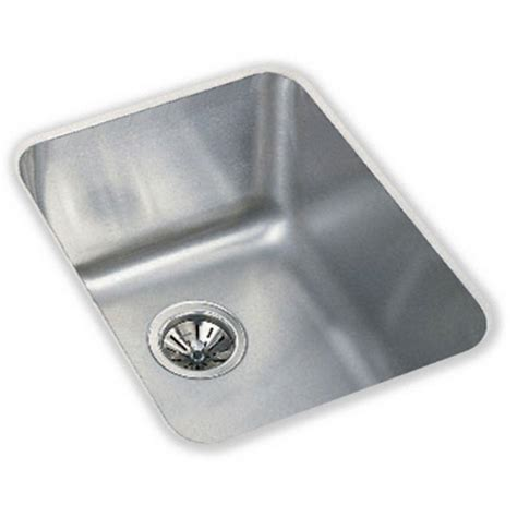 elkay undermount kitchen sink elkay lustertone undermount stainless steel 17 in single 7051